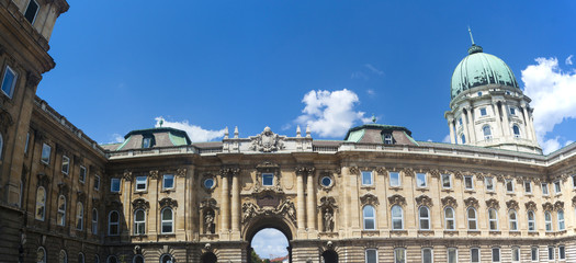 Buda Castle in Oldtown - Budapest, Czech Republic