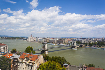 Pest Cityscape from Buda Hill - Budapest, Czech Republic