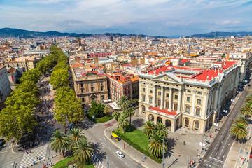 Panoramic view of Barcelona