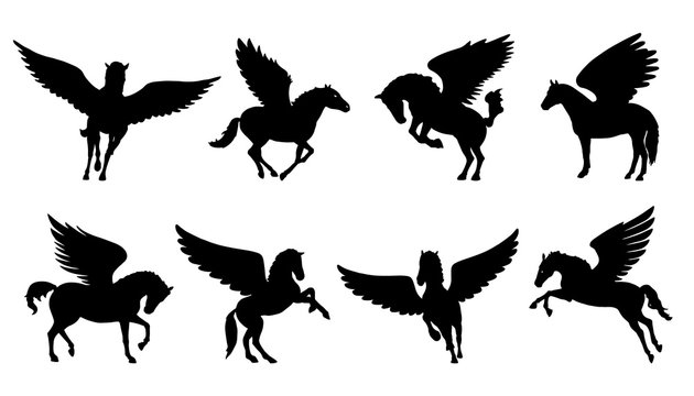 pegasus silhouettes