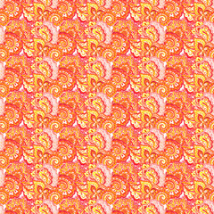 Retro texture with decorative asian mosaic ornament