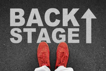 th t backstage I