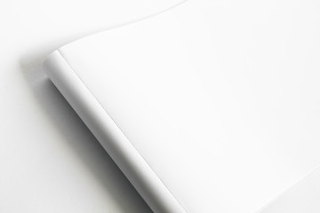 Abstract photo of white paper