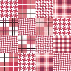 Geometric Patchwork Seamless Pattern