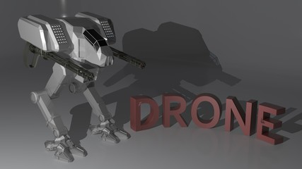 Drone Robot