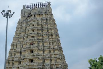 Ekambareshwar temple (8th century) Kanchipuram, Tamil Nadu, India, Asia