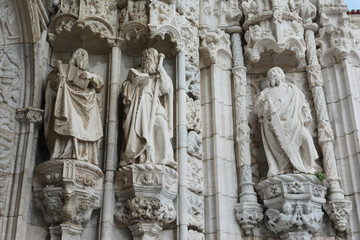Statue of prophets and saints