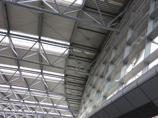 moderne  Deckenkonstruktion