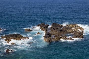 Sea Cliff in Los Cancajos (La Palma, Canary Islands)