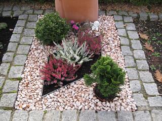 Bilder und videos suchen grabbepflanzung for Grabgestaltung mit steinen