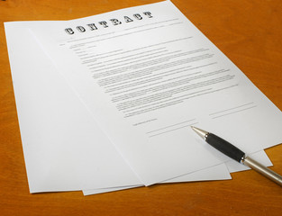 the signing of a legal document