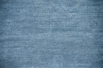 Close up of jeans texture