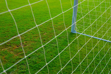 Soccer Goal with soccer field