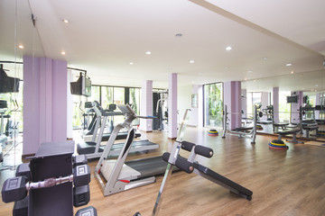 Fitness Center and gym for exercise