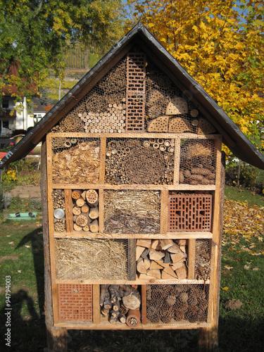 Insektenhotel Stock Photo And Royalty Free Images On Fotolia Com