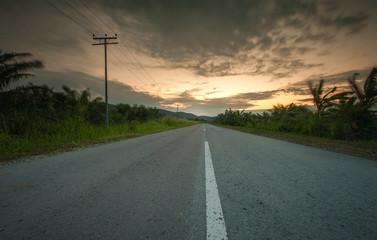 road toward success,