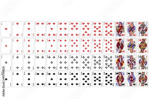 52 Karten