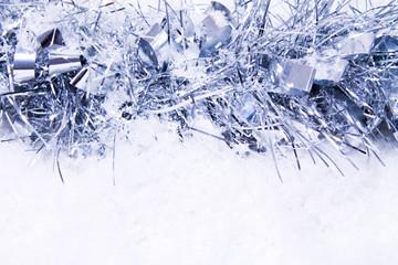 snow tinsel