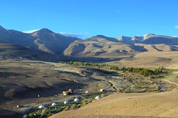 nomadic yurt camp