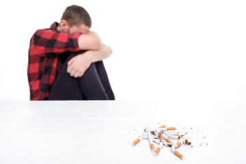 Nicotine is very harmful for your health
