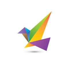 Eagle Origami Logo