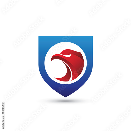 """red eagle shield logo"""" stock image and royalty-free vector files"""