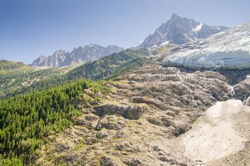 Glacier des Bossons Chamonix