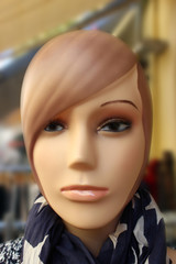 Beautiful Mannequin Head