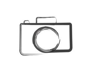 Camera Silhouette, And Camera Logo