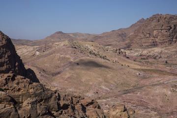 Landscape around Petra