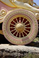 Sculptured Wheel of Chariot