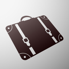 Emblem suitcase.