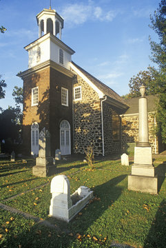 Old Swedes Church and cemetery,  Wilmington DE