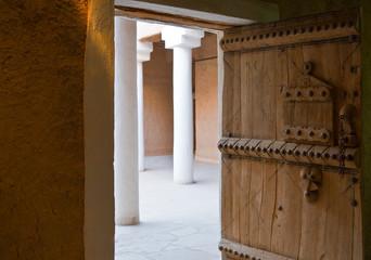 Saudi Arabia,Rijadh, the inside of Masmak Fortress (XIX century) in the old city center