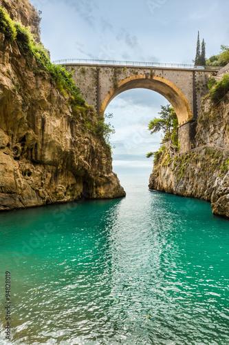 Beautiful Beach Fiordo Di Furore Amalfi Coast Costiera Amalfitana Italy