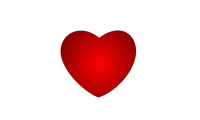 big valentine heart, love grows blossom