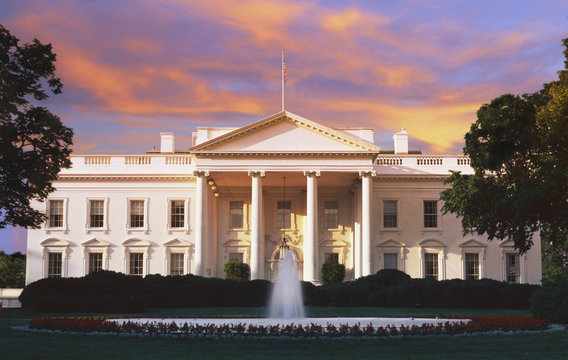The White House, Washington D.C. at dusk