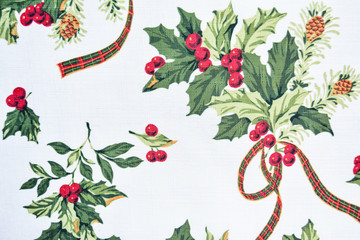 Colorful Christmas textile background