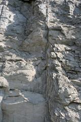 Skała - ściana kopalni