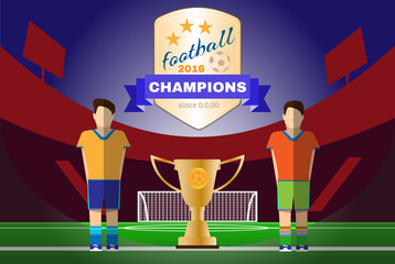 Two Champion Football Clubs