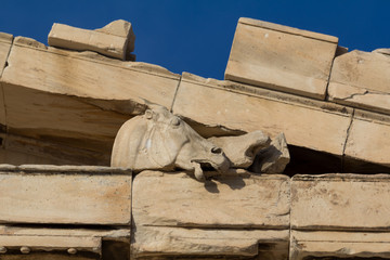 Acropolis in Athens, a World Heritage Site