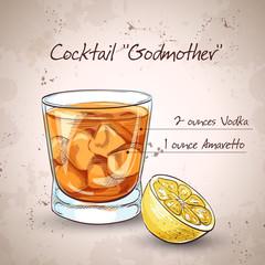 Alcoholic Cocktail Godmother