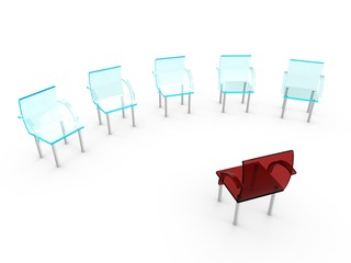 Job interview seats