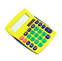 calculator isolated