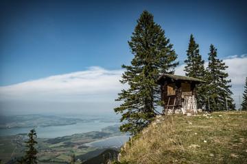 little mountain hut Wall mural