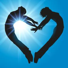 coeur couple