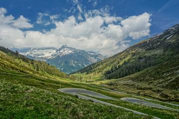 Splügenpass, Alpen