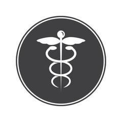 Medicine emblem icon