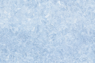 ice pattern on frozen window seamless background
