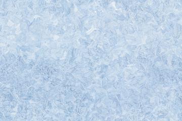 ice pattern on frozen window seamless background